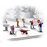 Working On The Railroad Christmas Express Train Accessory Set One