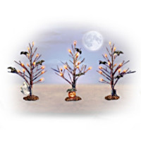 Forest of Fright Tree Figurine Set