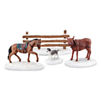 Working Barnyard Animals Accessory