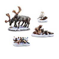 Nature's Peace Wildlife Animals Village Accessory Set