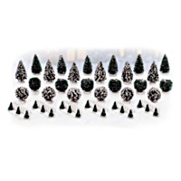 Winter's Ground Cover Landscape Village Accessory Set