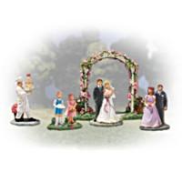 Wedding in Bloom Figurine Set