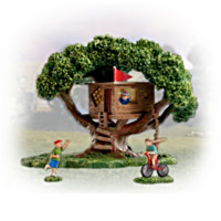 Take A Bough Tree House Figurine Set