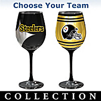 NFL Wine Glass Collection
