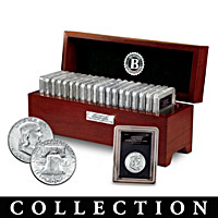 The Complete Franklin Silver Half Dollar Coin Collection