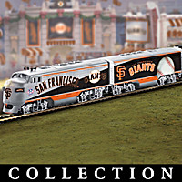 San Francisco Giants World Series Champions Train Collection