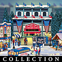 Chicago Cubs Christmas Village Collection