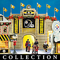 Pittsburgh Steelers Christmas Village Collection