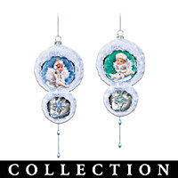 Snow Angel Holidays Ornament Collection: Sets Of Two