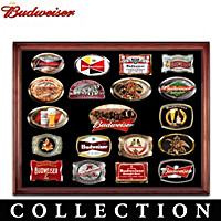 The Budweiser Belt Buckle Collection