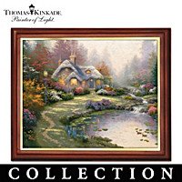 Thomas Kinkade Seasonal Art Canvas Print Collection