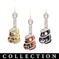 Elvis Swirl Ornament Collection