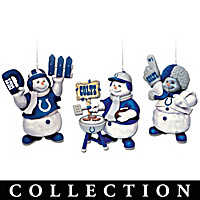 Indianapolis Colts Coolest Fans Ornament Collection