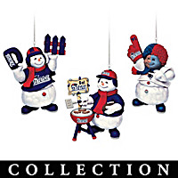 New England Patriots Coolest Fans Ornament Collection