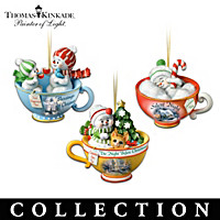 Thomas Kinkade Sweet Teas Ornament Collection