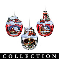 Farmall Sleigh Bells Ornament Collection