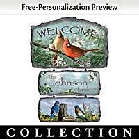 Songbirds Of The Season Wall Decor Collection
