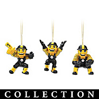 Pittsburgh Steelers Steely McBeam Ornament Collection