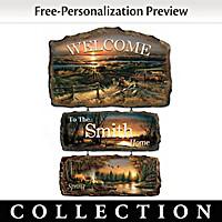 Seasons Of Splendor Welcome Wall Decor Collection
