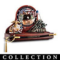 Heroes Of The USMC Showcase Wall Decor Collection