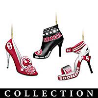 Oklahoma Sooners Stiletto Ornament Collection