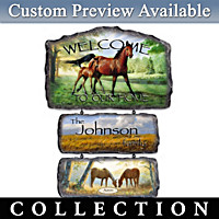 Regal Companions Personalized Wall Decor Collection