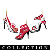 St. Louis Cardinals Steppin' Out Ornament Collection