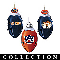 Auburn Tigers FootBells Ornament Collection