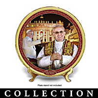 Pope Francis Commemorative Collector Plate Collection