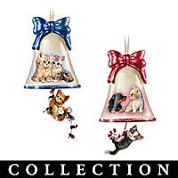 Purrfect Holiday Ornament Collection