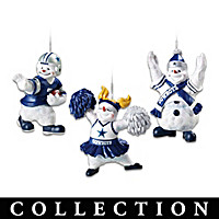 Dallas Cowboys Coolest Fans Ornament Collection