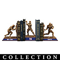 New York Giants Legacy Bookends Collection
