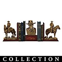 John Wayne: American Hero Bookends Collection