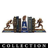 Seattle Seahawks Super Bowl XLVIII Champs Bookend Collection