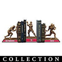 San Francisco 49ers Legacy Bookends Collection