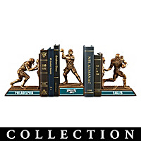 Philadelphia Eagles Legacy Bookends Collection