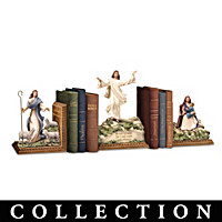 Jesus Is Always With Me Bookends Collection