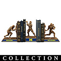 Michigan Wolverines Football Legacy Bookends Collection