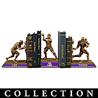 LSU Tigers Football Legacy Bookends Collection