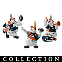 Denver Broncos Coolest Fans Ornament Collection