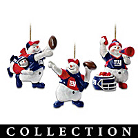 New York Giants Coolest Fans Ornament Collection