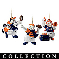 Chicago Bears Coolest Fans Ornament Collection