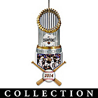 San Francisco Giants World Series Ornament Collection