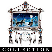 Cynthie Fisher Glow-In-The-Dark Wolf Art Collection