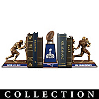 Patriots Super Bowl XLIX Champions Bookends Collection