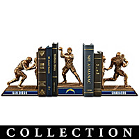 San Diego Chargers Legacy Bookends Collection