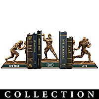 New York Jets Legacy Bookends Collection