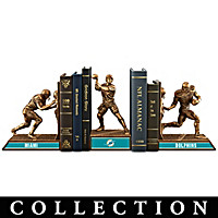 Miami Dolphins Legacy Bookends Collection