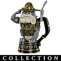 USMC Devil Dog Stein Collection