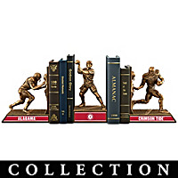 Alabama Crimson Tide Football Legacy Bookends Collection